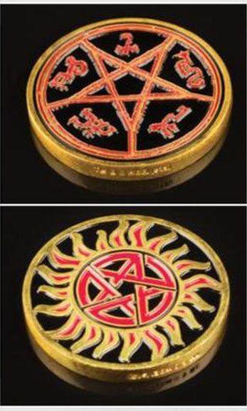 Image of   Supernatural Hunters Challenge Coin Mønter Standard