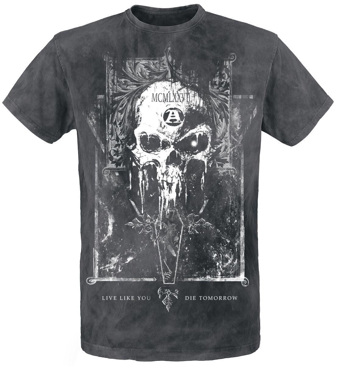 Image of   Alchemy England Mortis Capitas T-Shirt sort