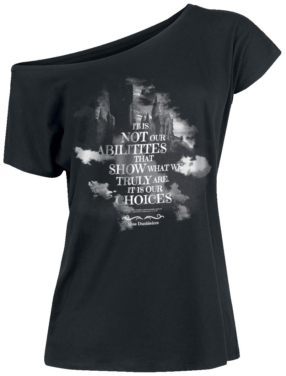 Harry Potter Choices Koszulka damska czarny