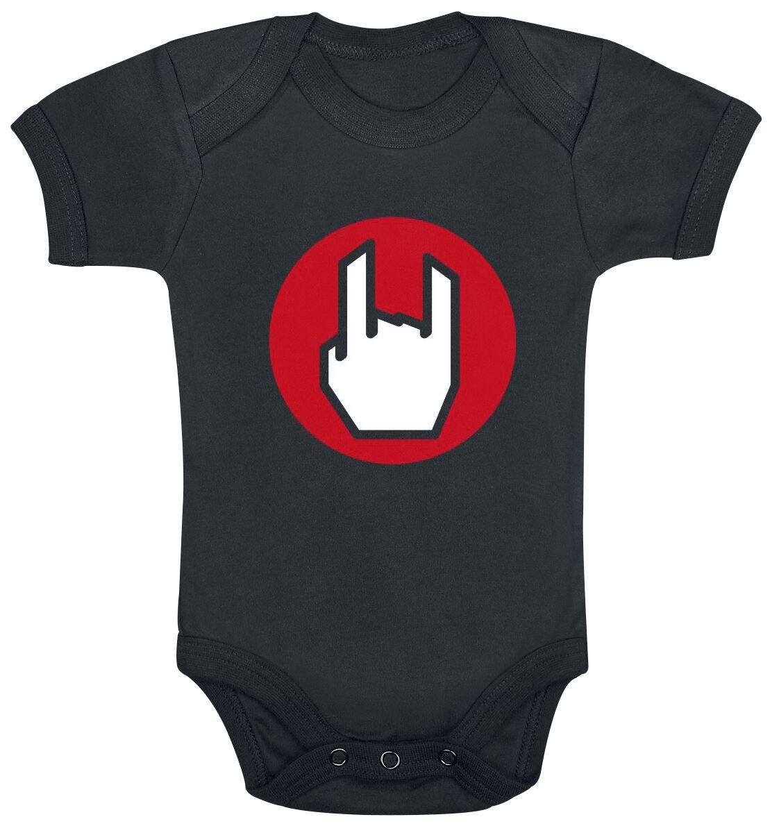 Fun Shirts - Odzież dziecięca i niemowlęca - Body EMP Logo Body czarny - 361781
