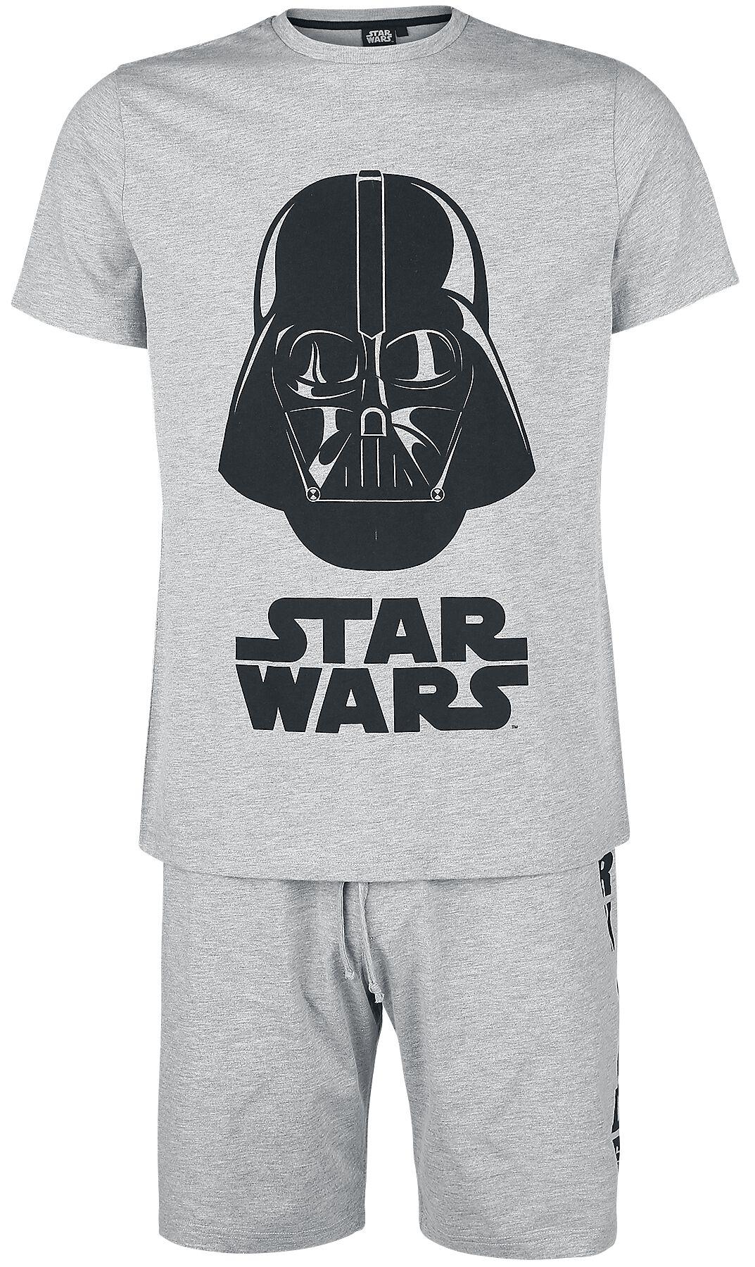 Image of   Star Wars Darth Vader Pyjamas blandet lys grå