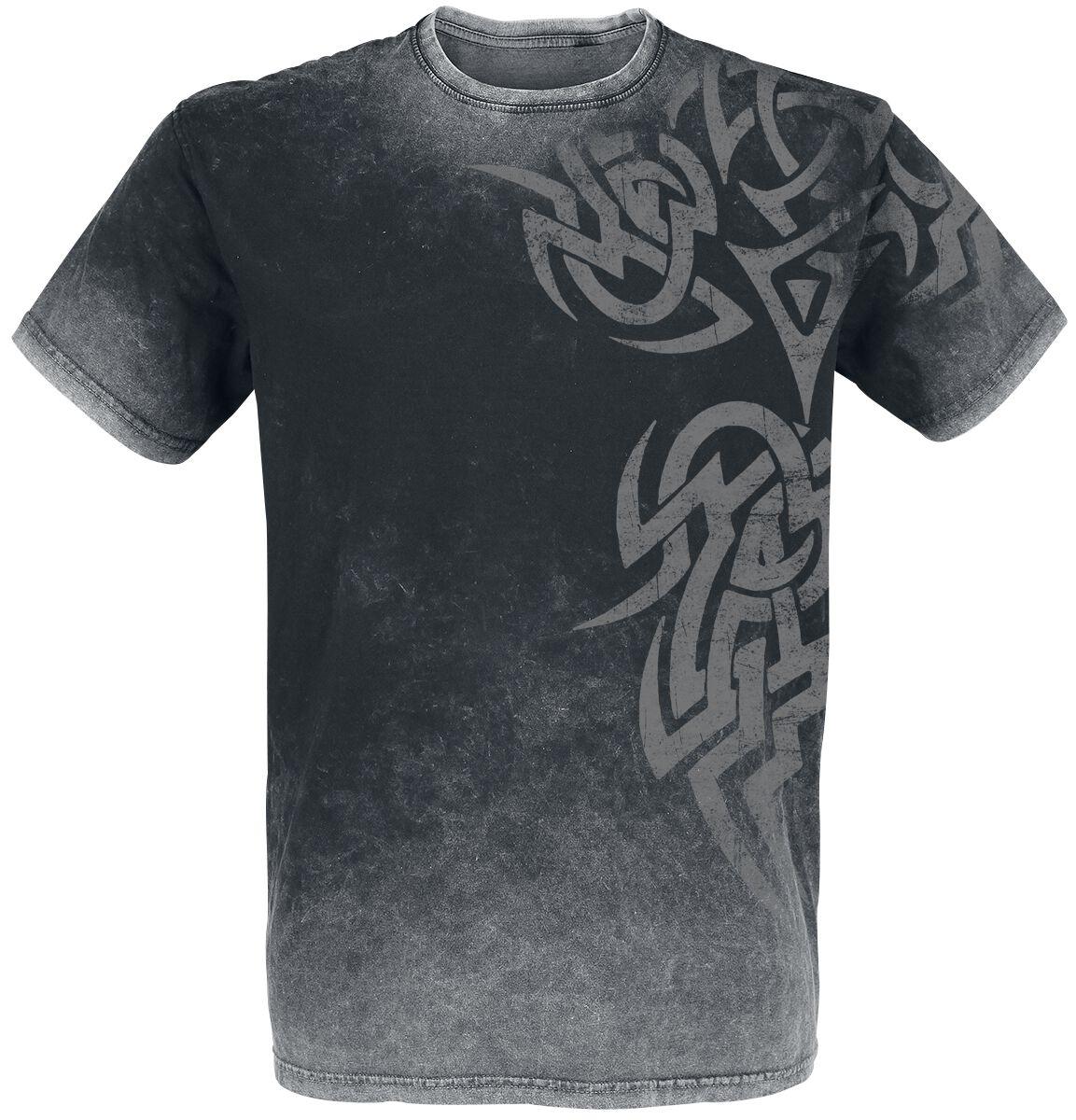 Image of   Outer Vision Broken Symbol T-Shirt sort