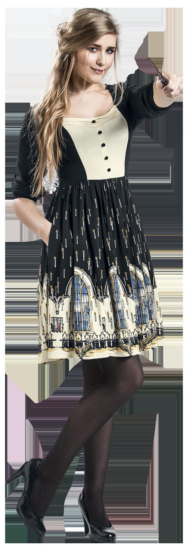 Harry Potter Große Halle Sukienka wielokolorowy