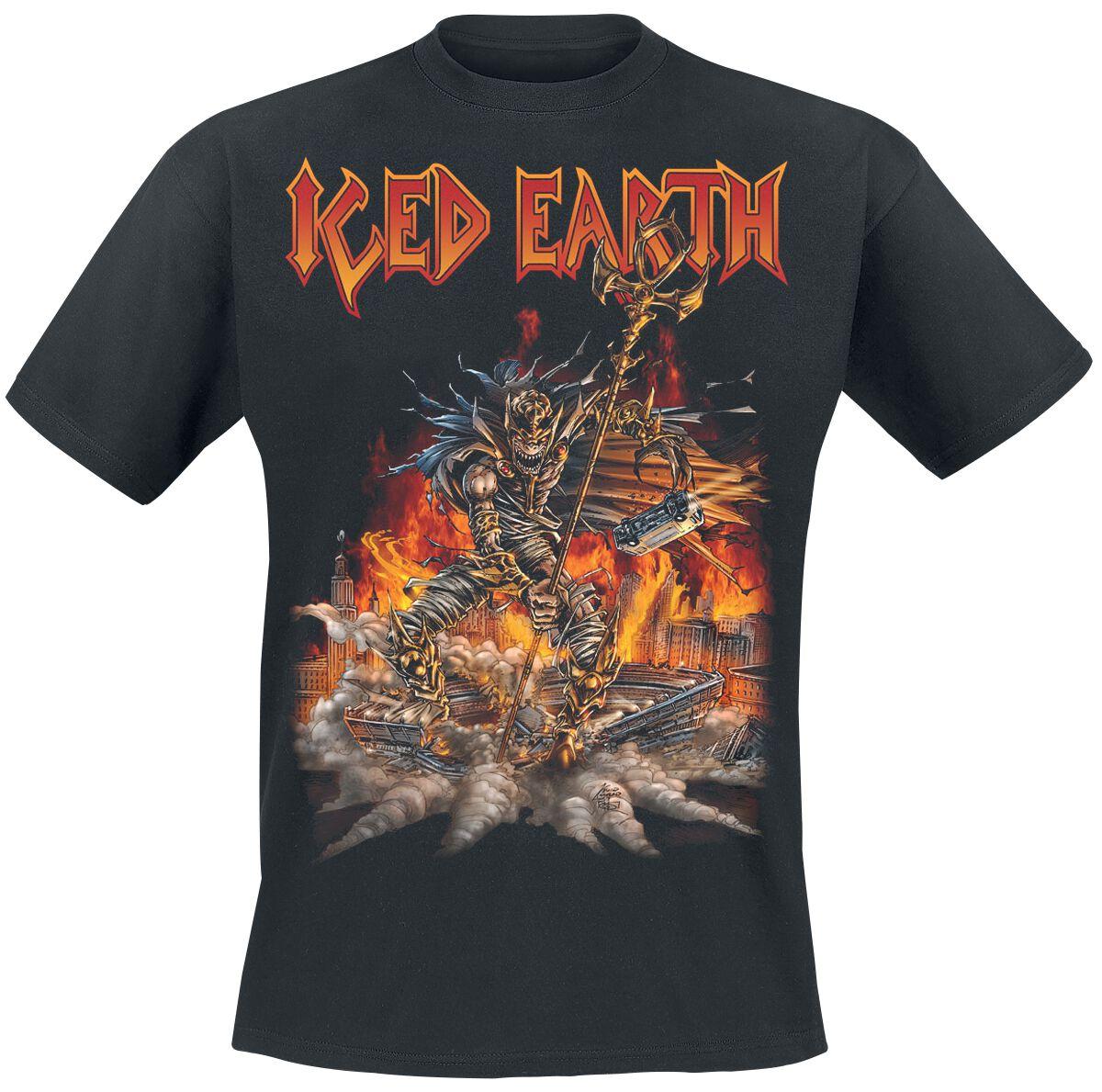 Zespoły - Koszulki - T-Shirt Iced Earth Incorruptible T-Shirt czarny - 362061