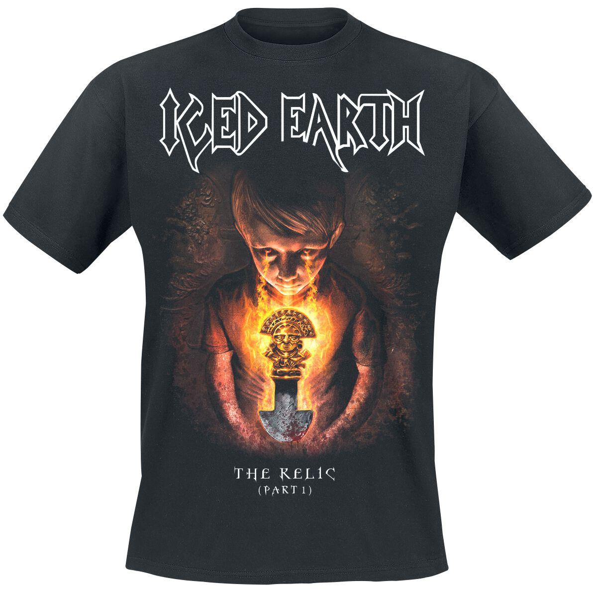 Zespoły - Koszulki - T-Shirt Iced Earth The Relic T-Shirt czarny - 362069