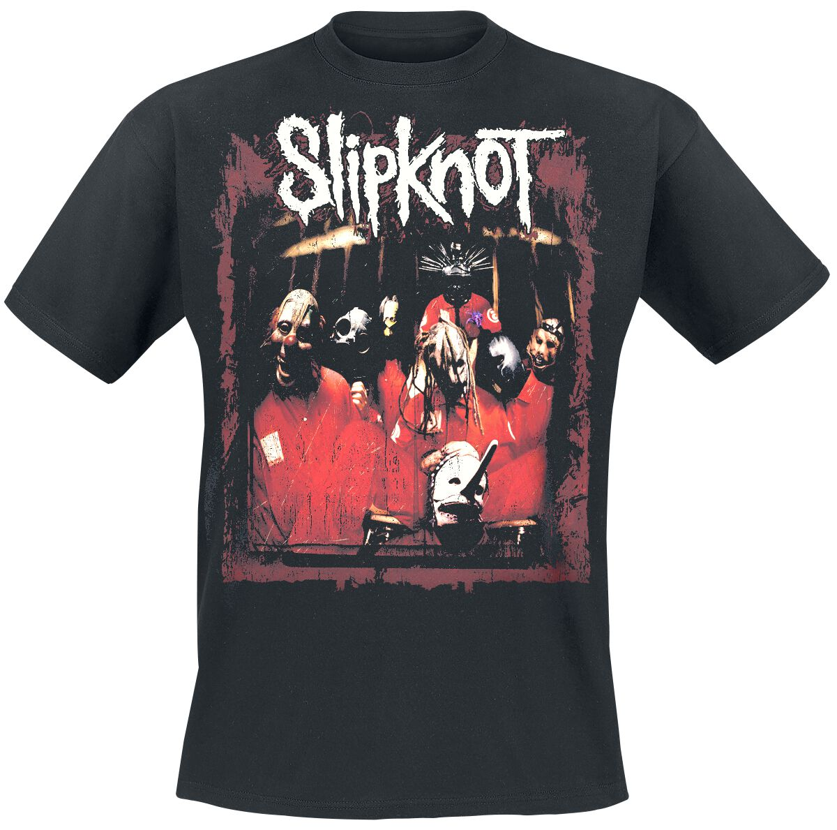 Image of   Slipknot Debut Album T-Shirt sort
