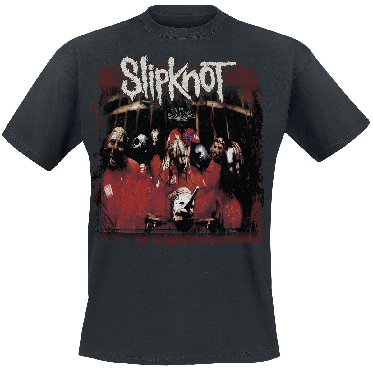 Image of   Slipknot Debut Album T-Shirt sort