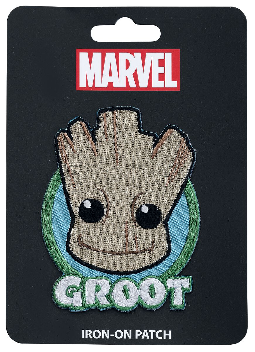 Image of   Guardians Of The Galaxy Loungefly - Groot Patch multifarvet