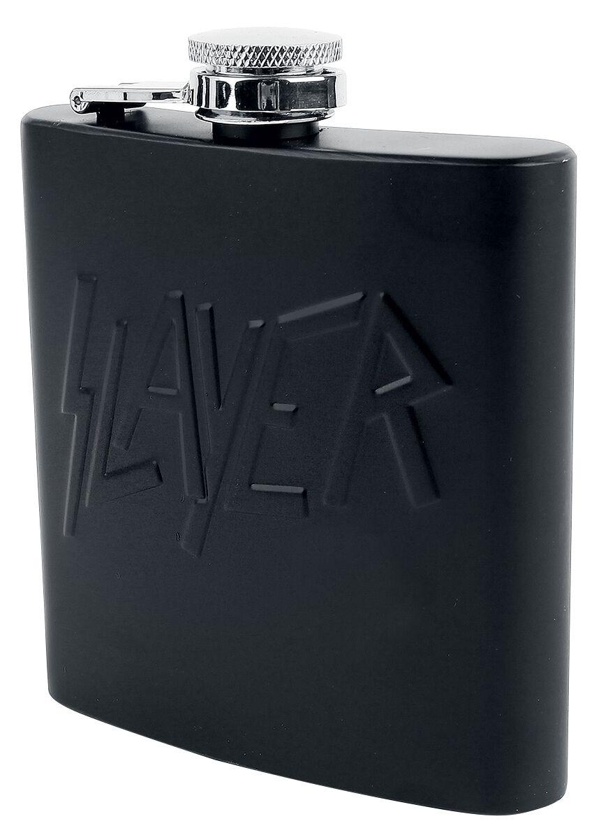Image of   Slayer Logo - Flachmann Drikkeflaske matsort