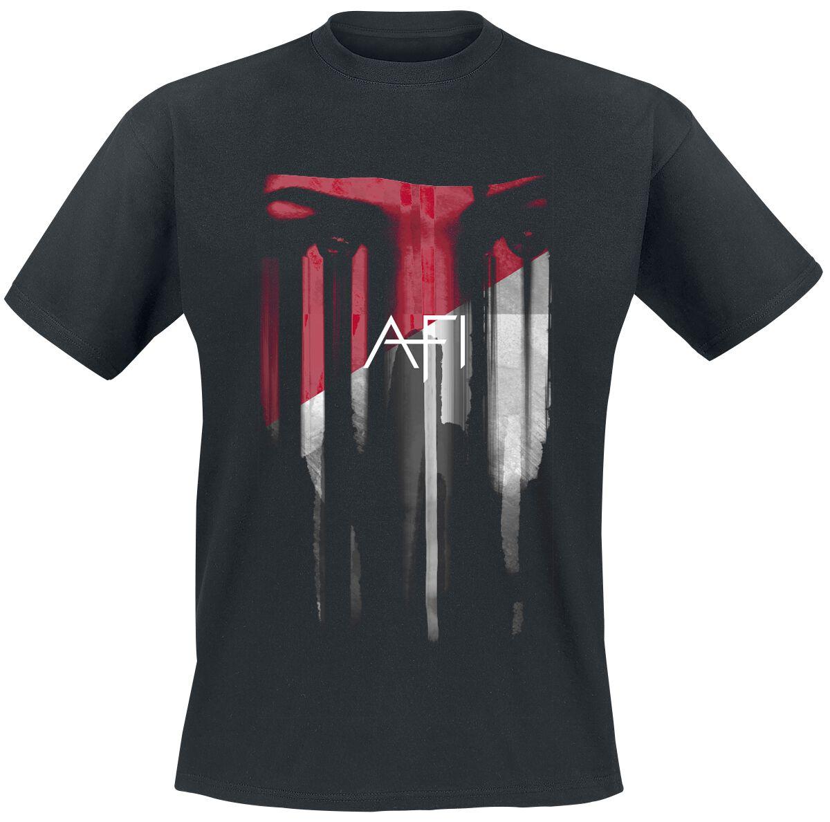 Zespoły - Koszulki - T-Shirt Afi Red Eyes T-Shirt czarny - 362193
