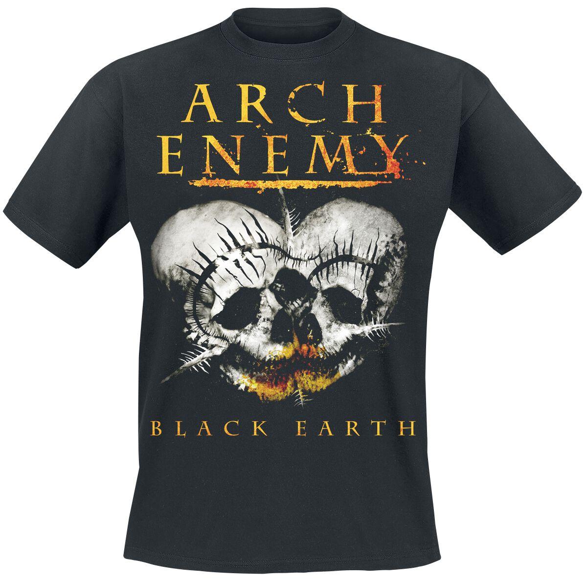 Zespoły - Koszulki - T-Shirt Arch Enemy Black earth T-Shirt czarny - 362210
