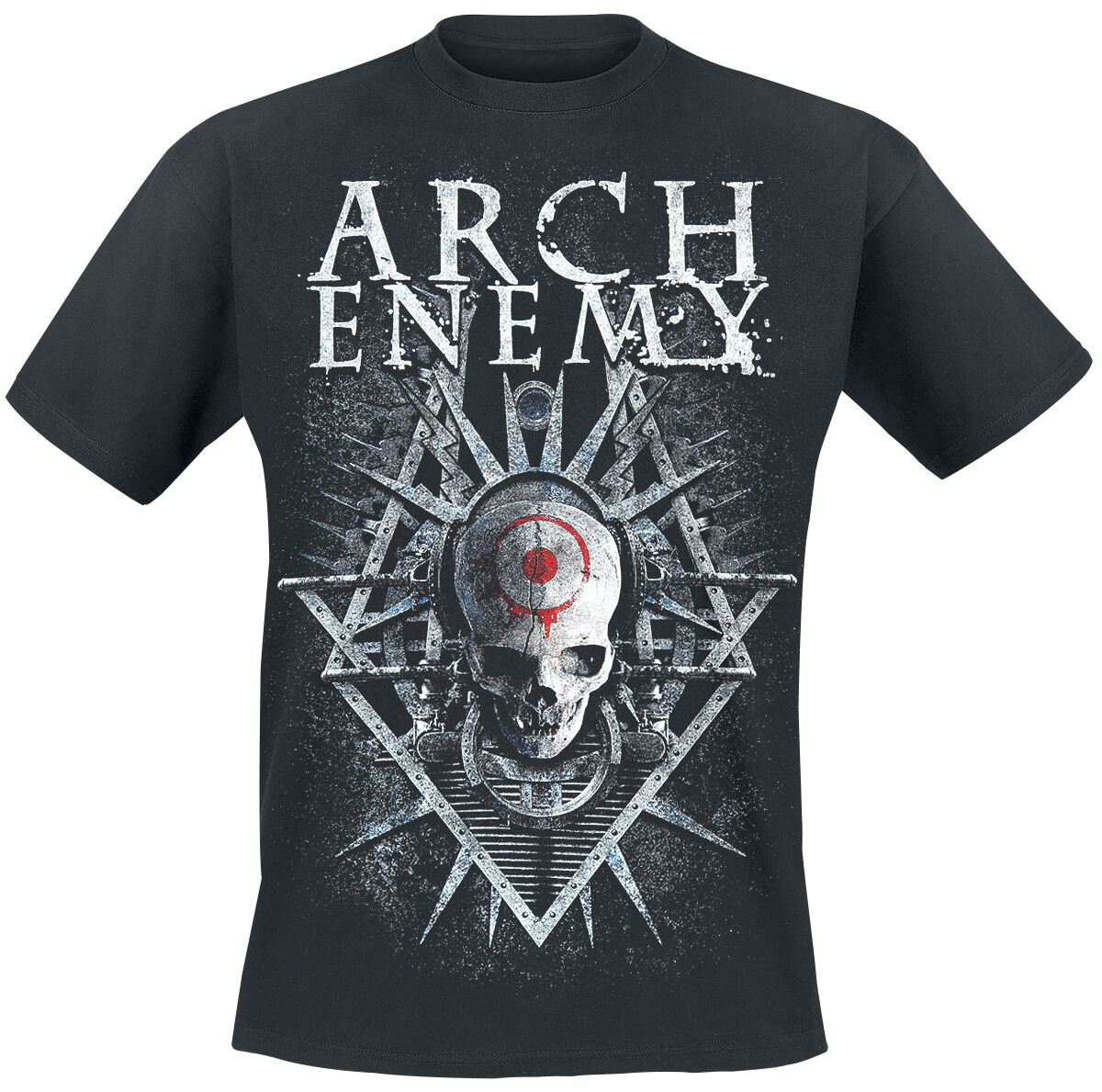 Image of   Arch Enemy Skull T-Shirt sort