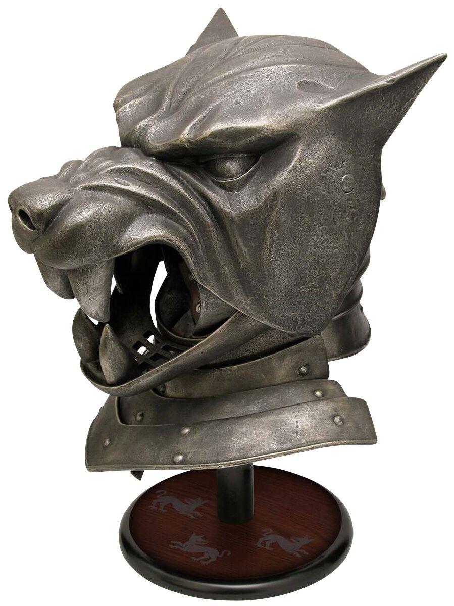 Image of   Game Of Thrones Der Helm des Bluthundes Dekorationsartikel Standard