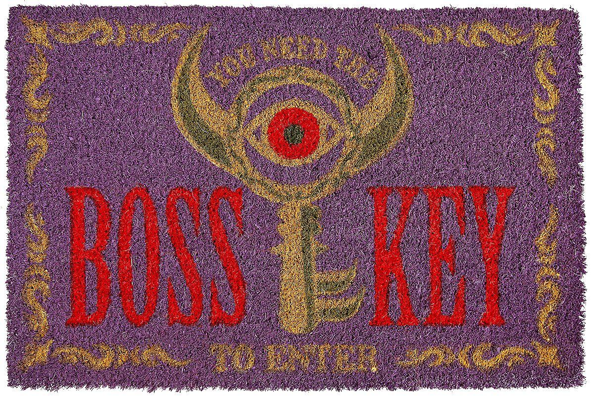 Image of   The Legend Of Zelda Boss Key Dørmåtte multifarvet