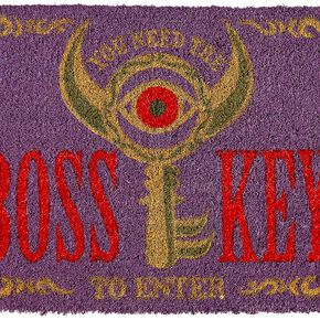 The Legend Of Zelda Boss Key Paillasson multicolore