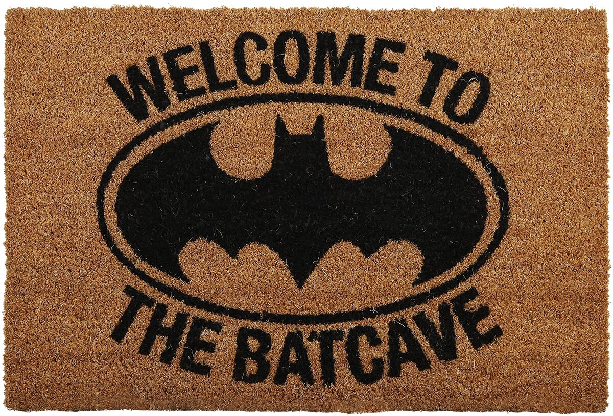 Image of   Batman Welcome to the Batcave Dørmåtte multifarvet