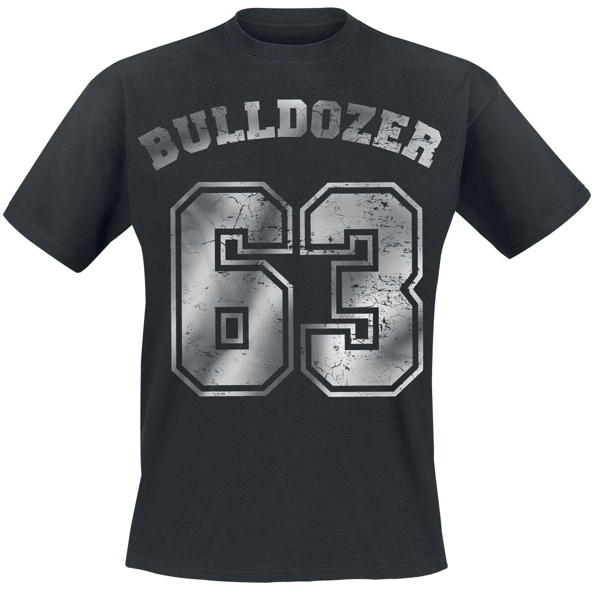 Merch dla Fanów - Koszulki - T-Shirt Bud Spencer Bulldozer T-Shirt czarny - 362245
