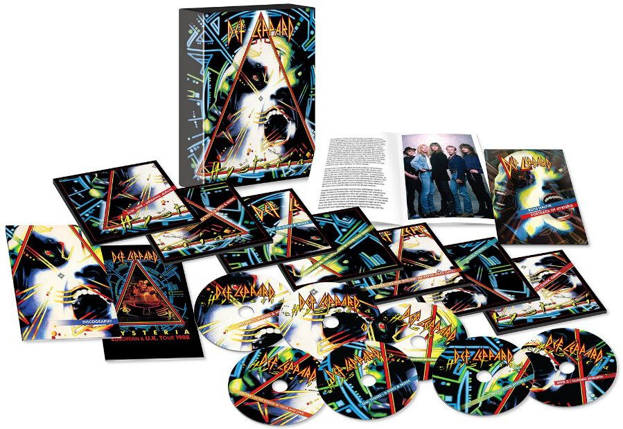 Image of Def Leppard Hysteria (Remastered 2017) 5-CD & 2-DVD Standard
