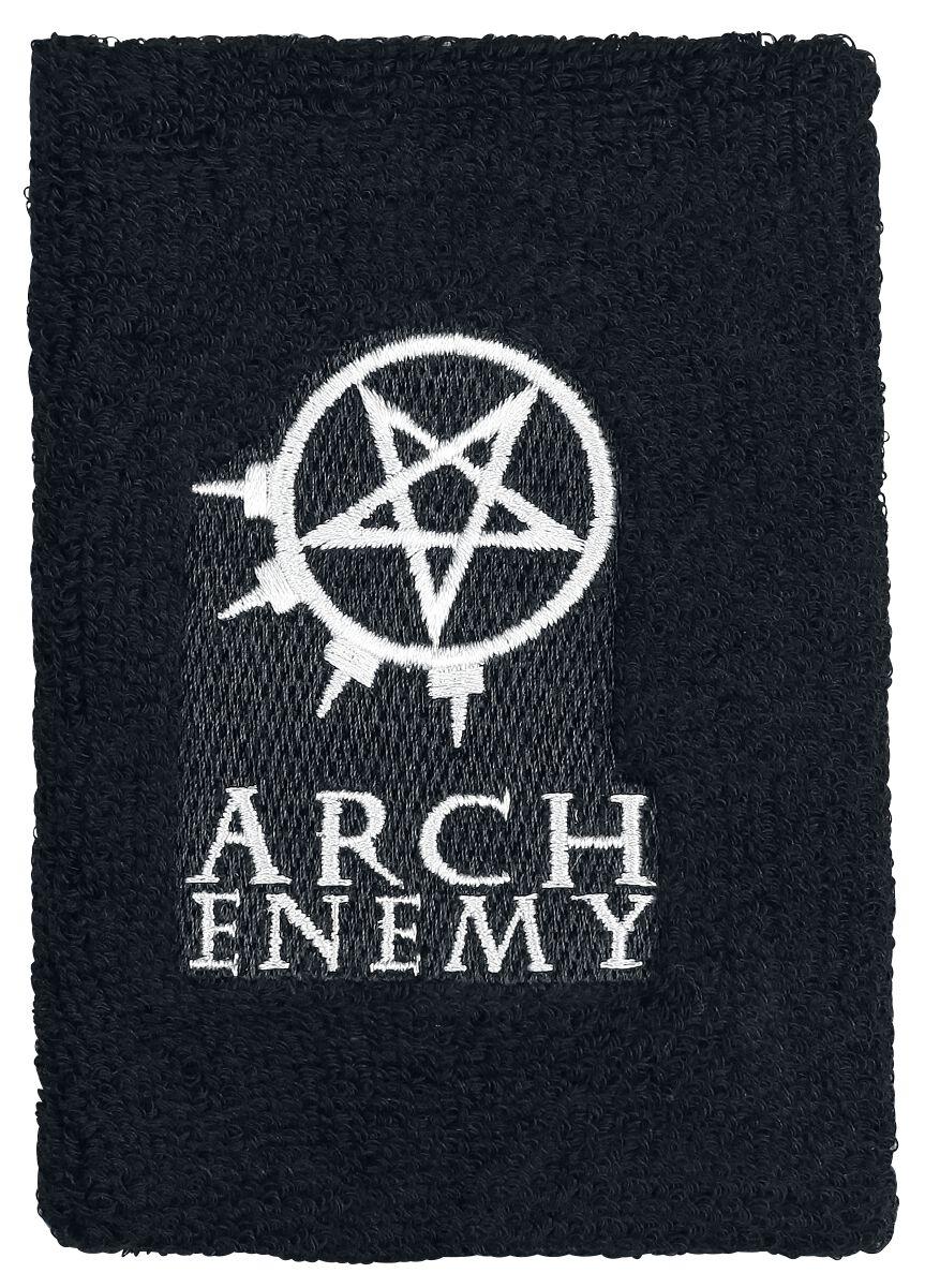 Zespoły - Frotki i Narękawniki - Frotka Arch Enemy Logo und Symbol Frotka czarny - 362343