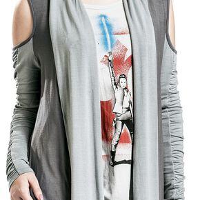 Star Wars Épisode 8 - Les Derniers Jedi - Rey Cardigan pour Femme gris