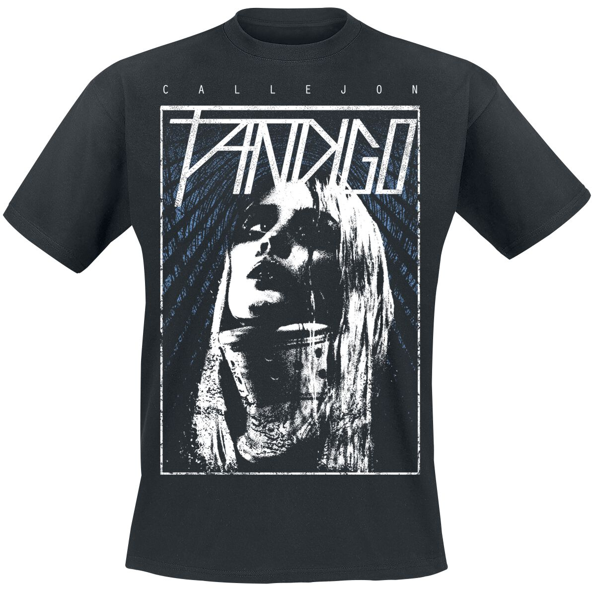 Zespoły - Koszulki - T-Shirt Callejon Fandigo Girl T-Shirt czarny - 362375