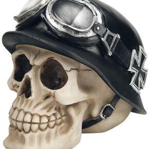 Nemesis Now Iron Cross Skull Figurine Standard