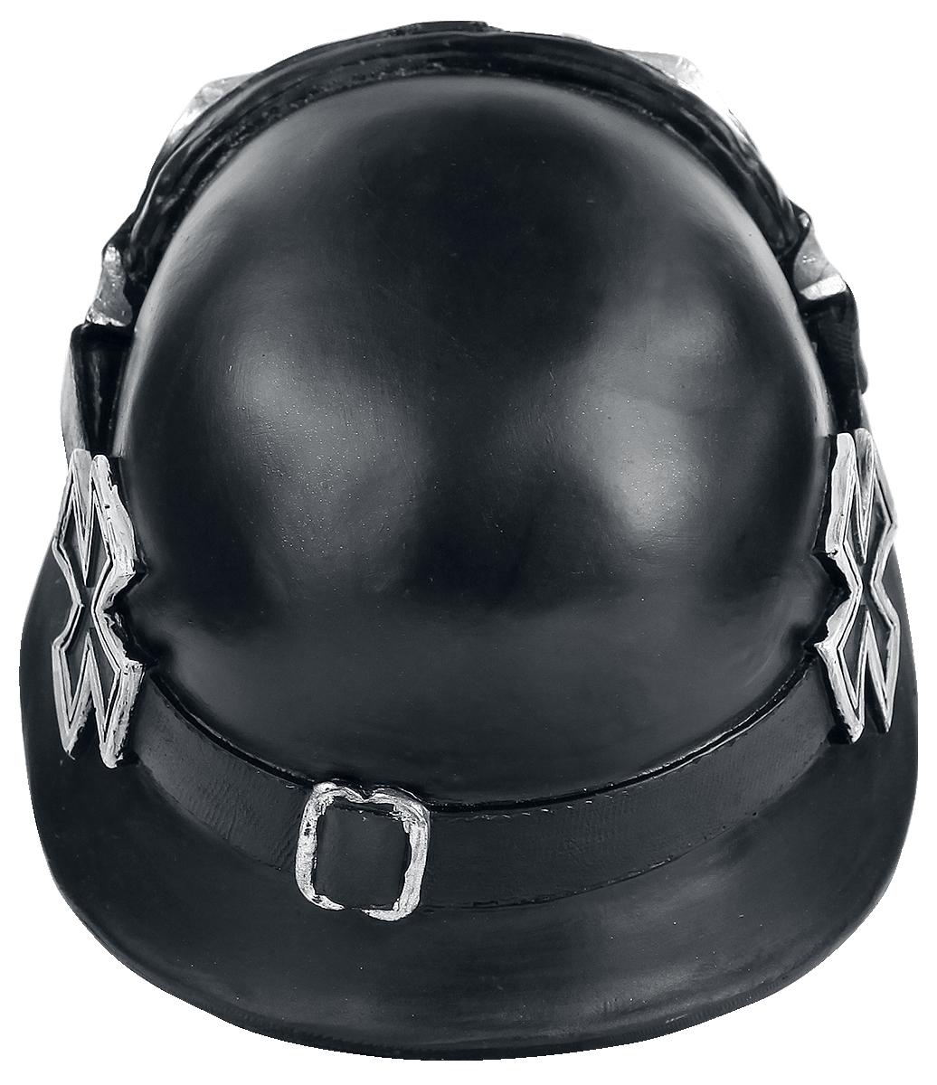 Image of Nemesis Now Iron Cross Skull Deko-Schädel Standard