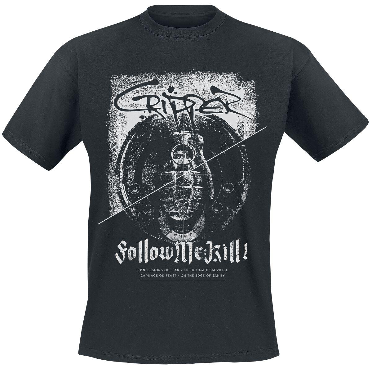 Zespoły - Koszulki - T-Shirt Cripper Follow me: Kill! T-Shirt czarny - 362402
