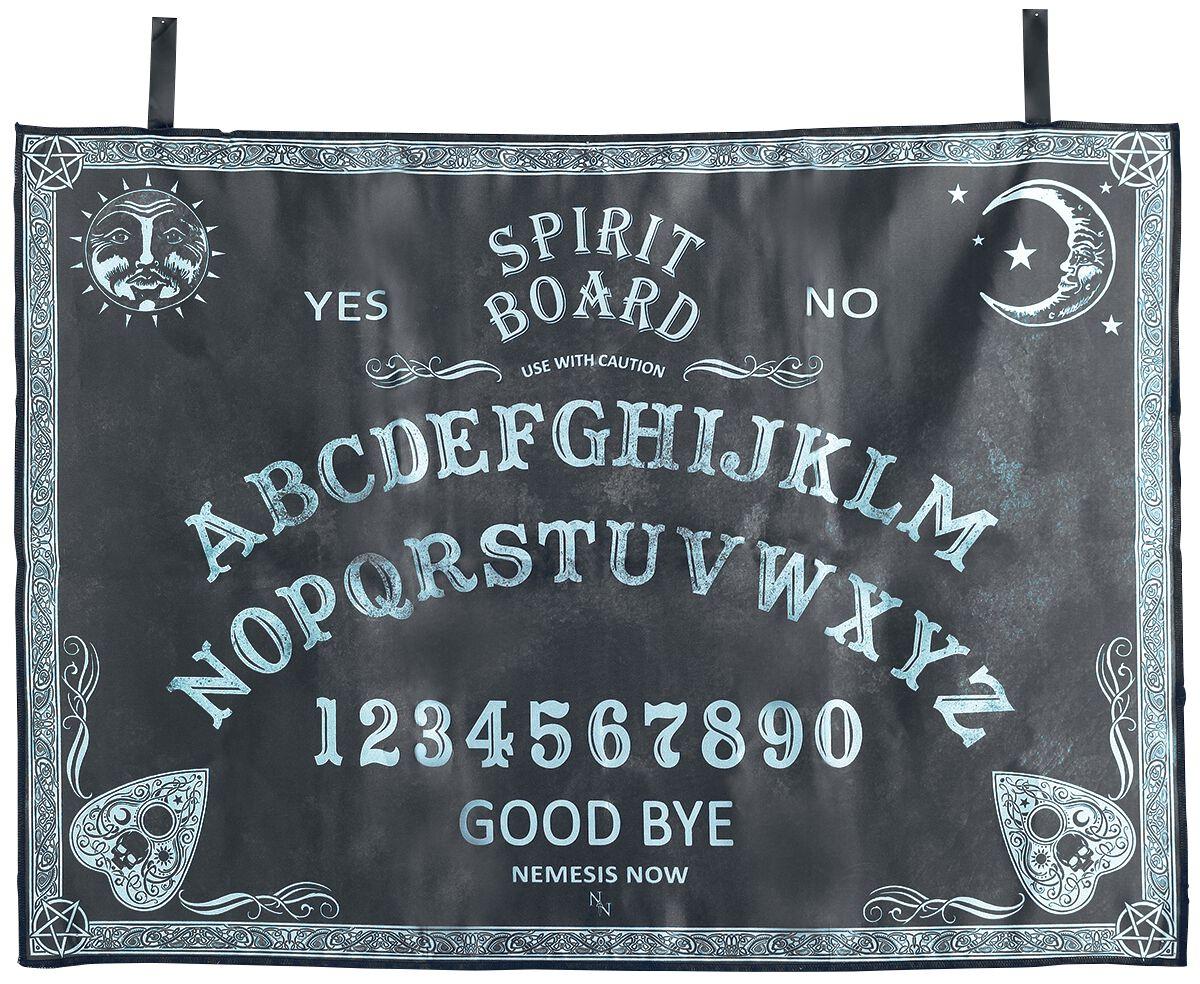 Image of   Nemesis Now Altar Cloth Spirit Board Bordpynt sort-hvid