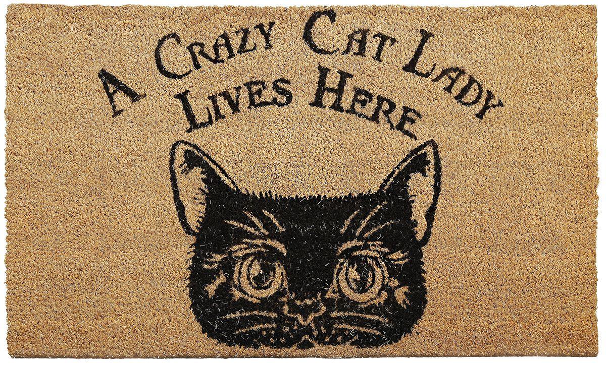 Image of   Nemesis Now Crazy Cat Lady Dørmåtte Standard