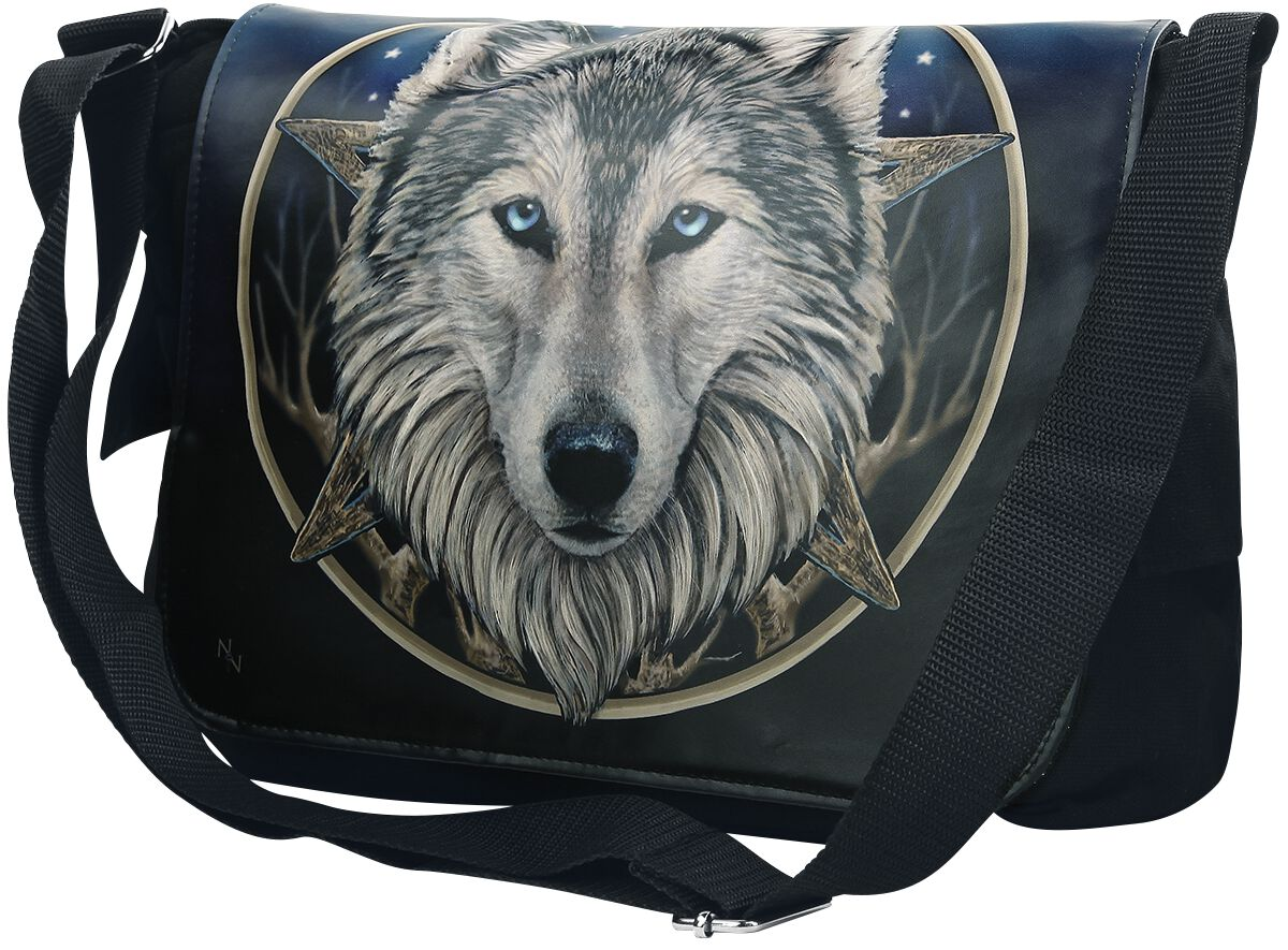 Image of   Nemesis Now Messenger Bag - The Wild One Budtaske Standard
