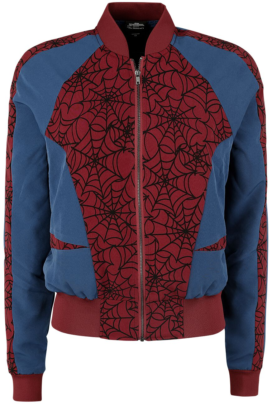 Image of   Spiderman Cosplay Girlie jakke multifarvet