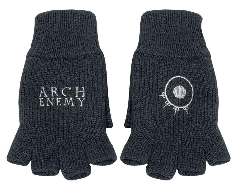 Basics - Szaliki i Rękawiczki - Rękawiczki bez palców Arch Enemy Will to power Rękawiczki bez palców czarny - 362648