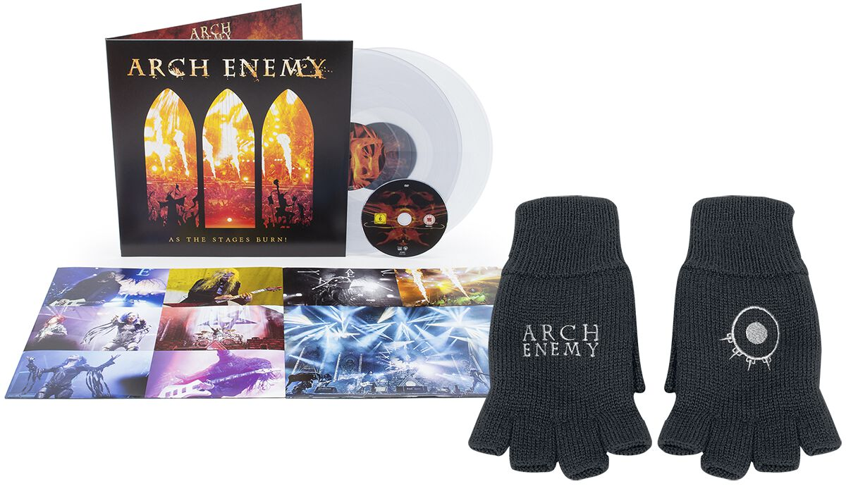 Image of   Arch Enemy Will to power CD & Handsker standard