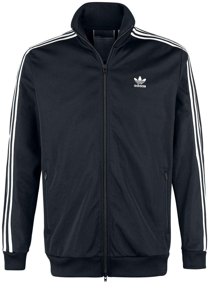Image of   Adidas Franz Beckenbauer Tracktop Træningsjakke sort-hvid