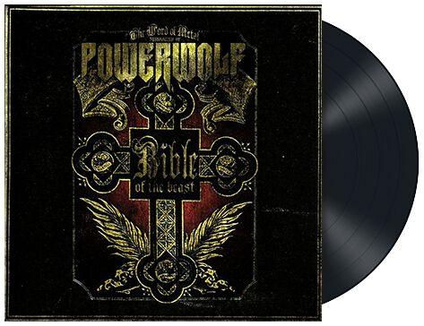 Image of   Powerwolf Bible of the beast LP standard