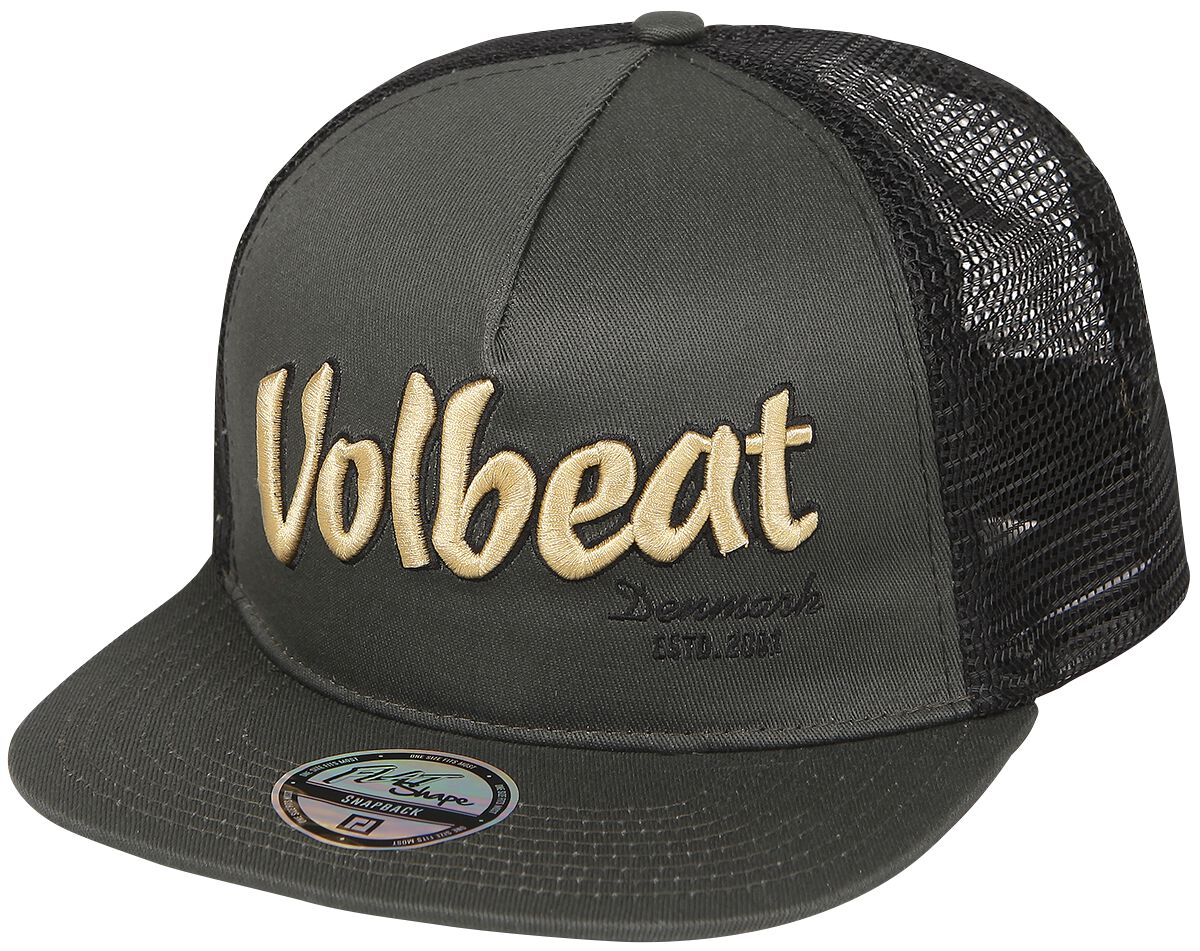 Image of   Volbeat Logo Trucker Cap sort-grå