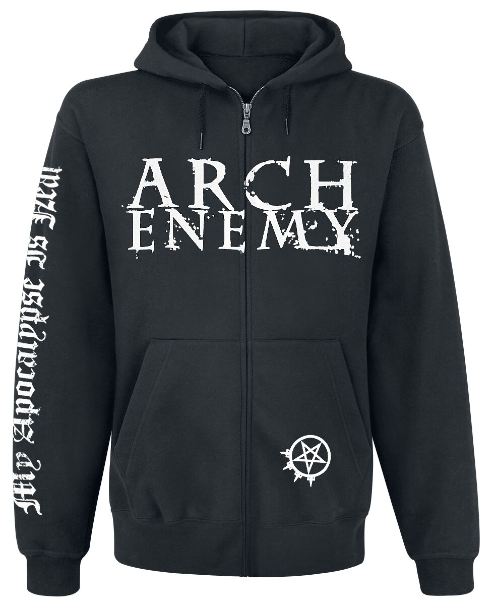 Image of   Arch Enemy My Apocalypse Hættejakke sort