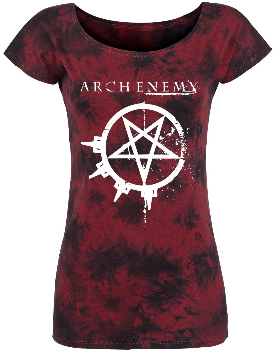 Image of   Arch Enemy Logo Girlie trøje bordeaux