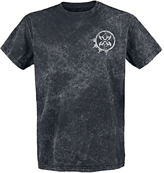 Zespoły - Koszulki - T-Shirt Arch Enemy Death Squad T-Shirt ciemnoszary - 362815