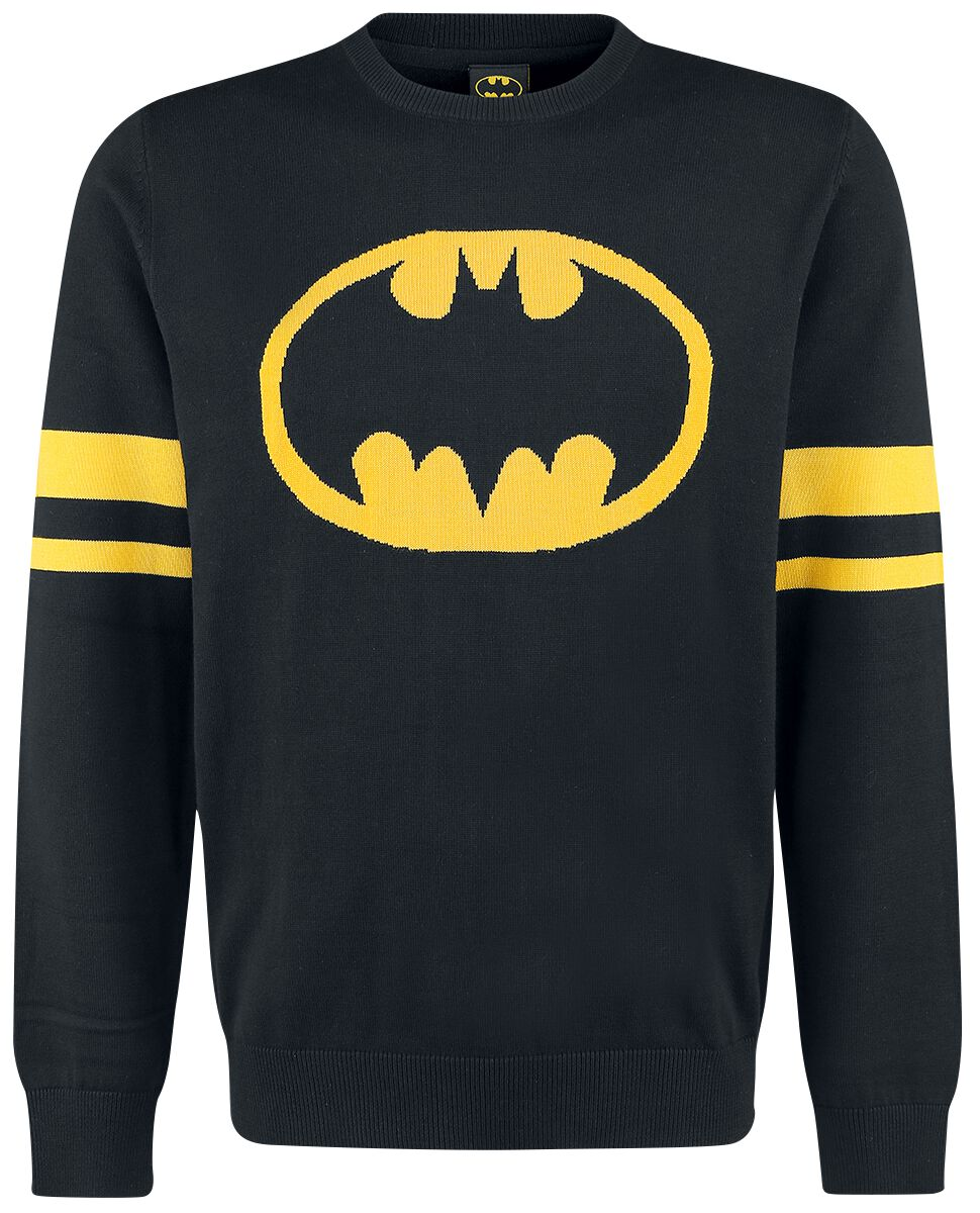 Image of   Batman Logo Pullover sort