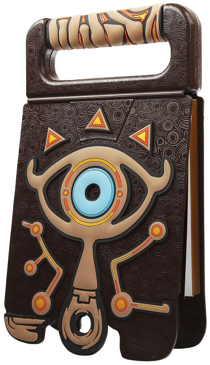 Image of   The Legend Of Zelda Breath Of The Wild - Sheikah - Sketchbook Sketchbog multifarvet