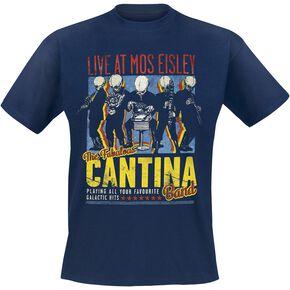Star Wars Cantina Band On Tour T-shirt marine