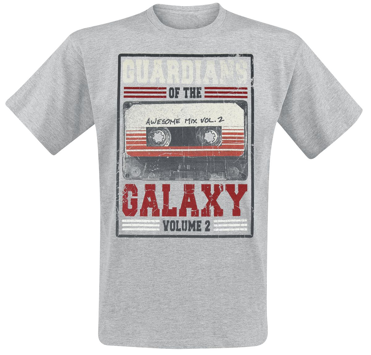 Image of   Guardians Of The Galaxy 2 - Awesome Mix Vol.2 T-Shirt grålig