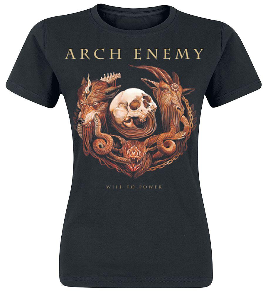 Zespoły - Koszulki - Koszulka damska Arch Enemy Will To Power Koszulka damska czarny - 362888