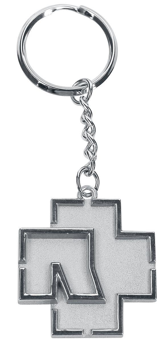 Image of   Rammstein Logo Nøglering krom