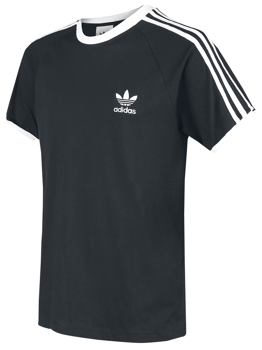 Image of Adidas 3-Stripes T-Shirt T-Shirt schwarz