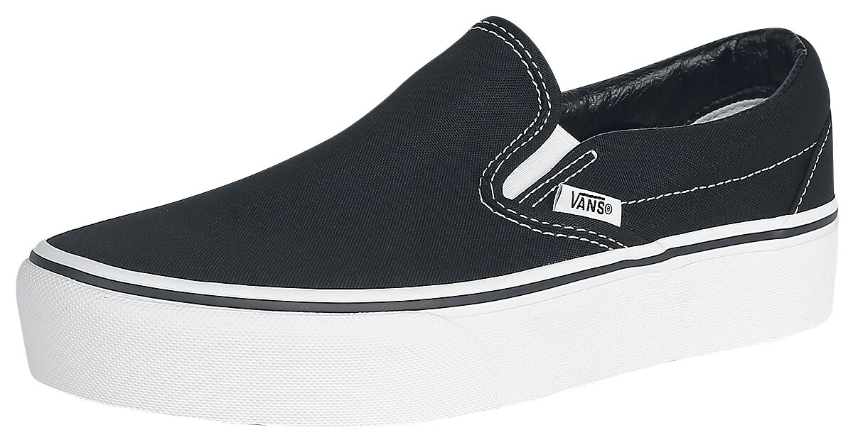 Image of   Vans Classic Slip-On Platform Sneakers sort
