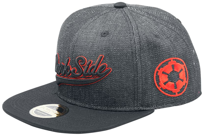 Image of   Star Wars Dark Side Snapback Cap antracit