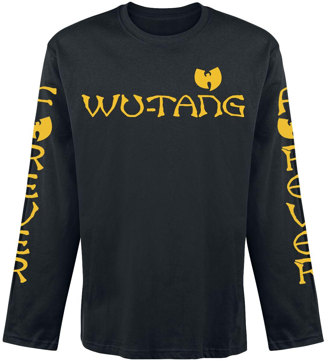 Zespoły - Longsleeve - Longsleeve Wu Tang Clan Logo Longsleeve czarny - 363141